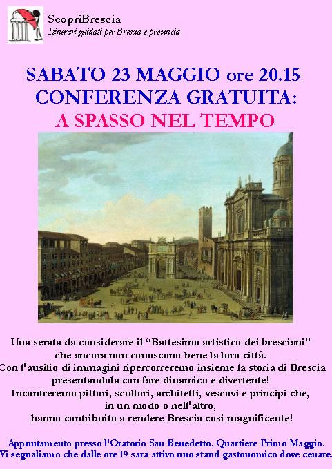 Conferenza a Spasso nel Tempo con Scopri Brescia