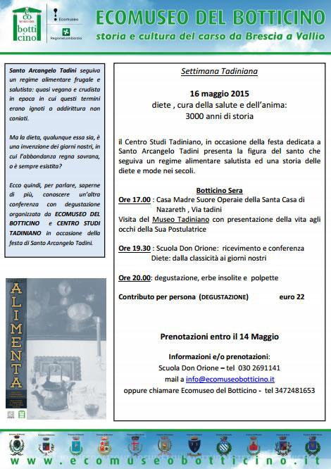 Conferenza con Degustazione a Botticino