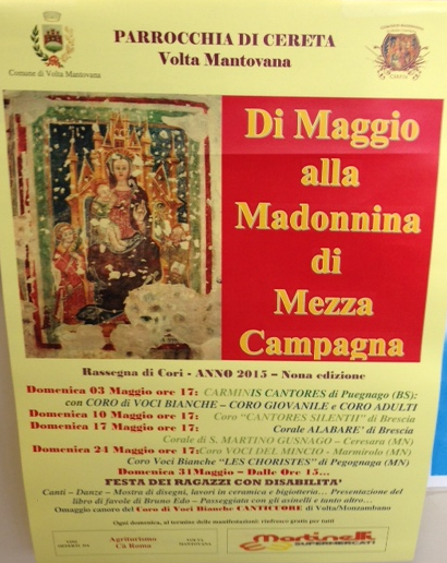 Di Maggio alla Madonnina di Mezza Campagna