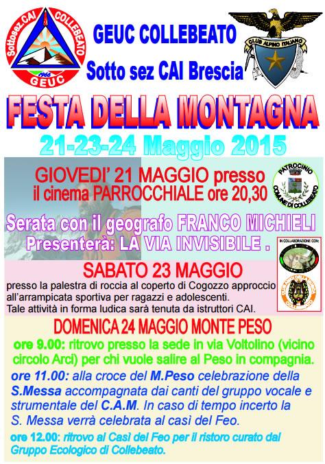 Festa della Montagna a CollebeatoFesta della Montagna a Collebeato