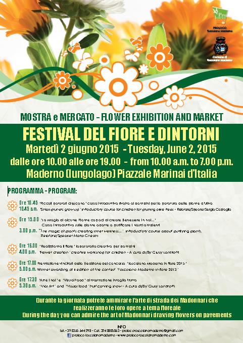 Festival del Fiore e Dintorni a Toscolano Maderno
