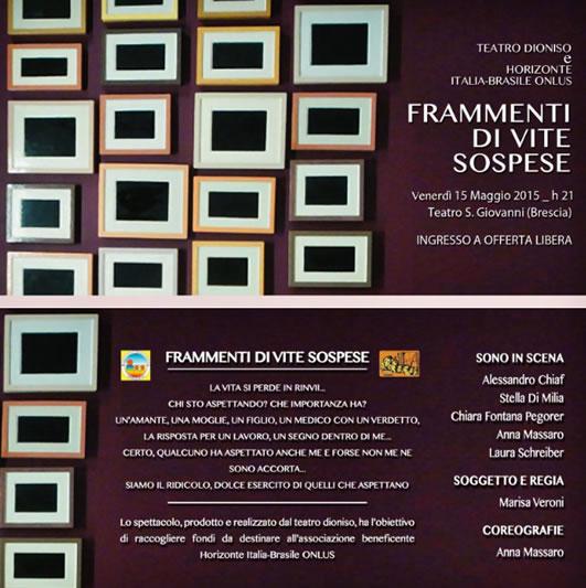 Frammenti di Vite Sospese a Brescia
