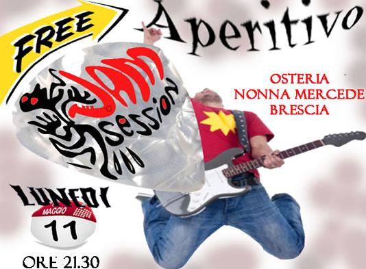 Free Jam Session a Brescia