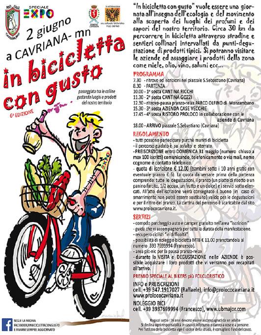 In Bicicletta con Gusto a Cavriana MN