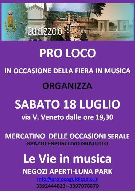 Le Vie in Musica a Guidizzolo MN