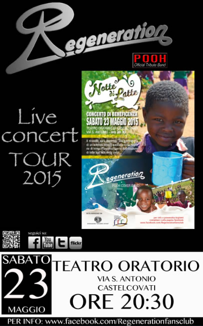 Live Concert Regeneration a Castelcovati