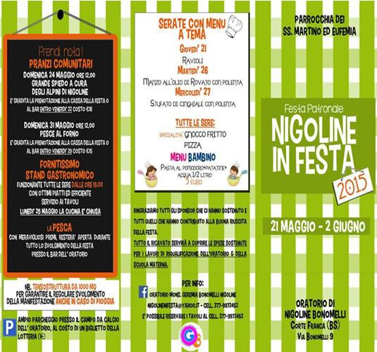 Nigoline in Festa 2015 a Corte Franca