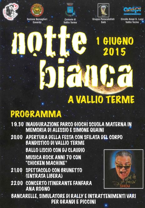 Notte Bianca a Vallio Terme