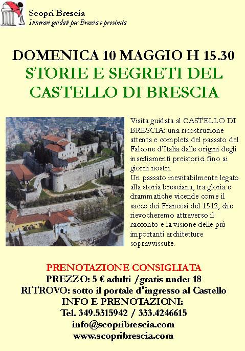 Storie e Segreti del Castello di Brescia con Scopri Brescia