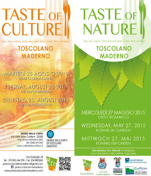 Taste of  a Toscolano Maderno