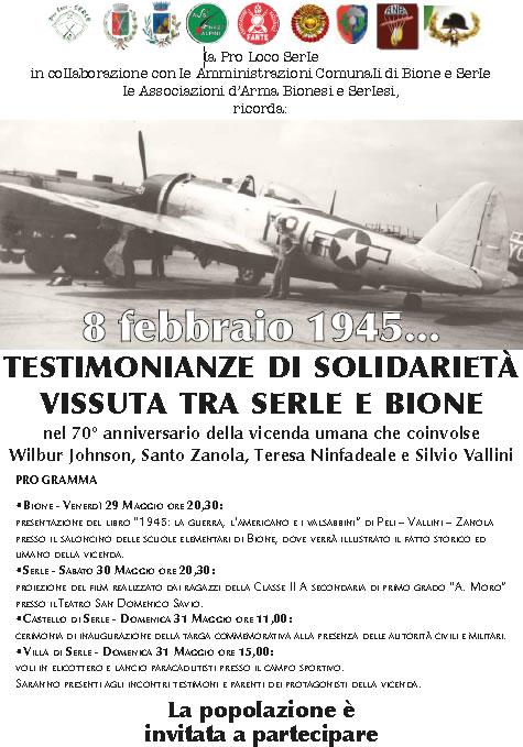 Testimonianze di Solidarietà a Serle