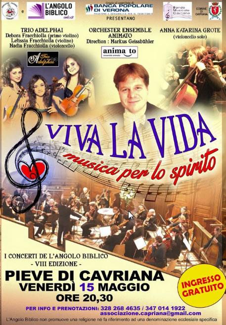 Viva la Vida a Cavriana MN