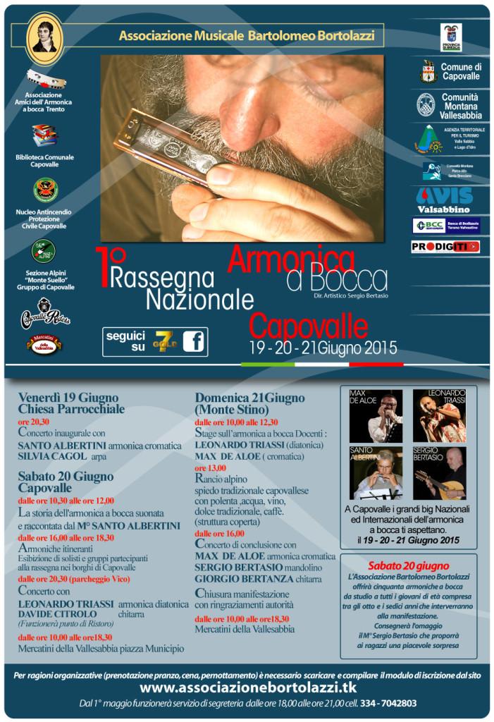 1° rassegna per l'armonica a bocca a Capovalle