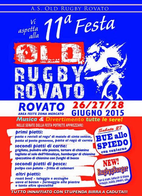 11° Festa Old Rugby Rovato