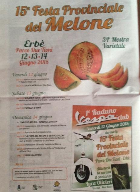 15 Festa Provinciale del Melone a Erbè VR