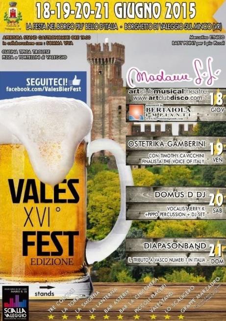 16 Vales Fest a Valeggio SM VR