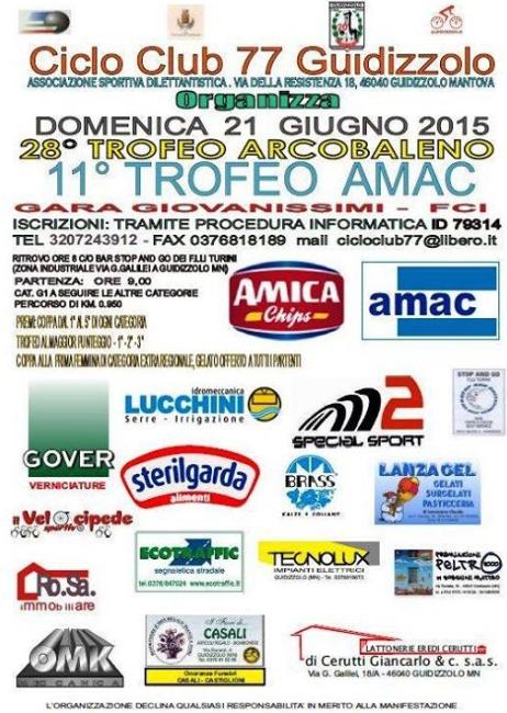 28 Trofeo Arcobaleno a Guidizzolo MN