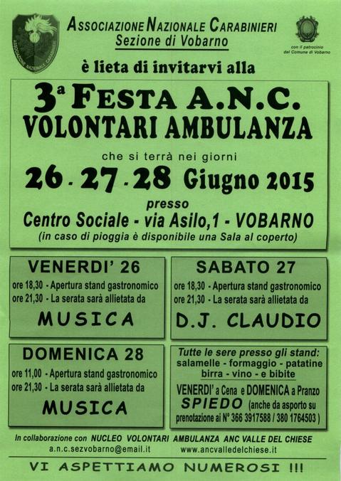 3 Festa A.N.C. a Vobarno