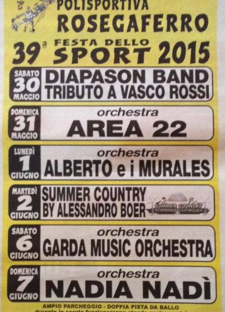 39 Festa dello Sport a Rosegaferro VR