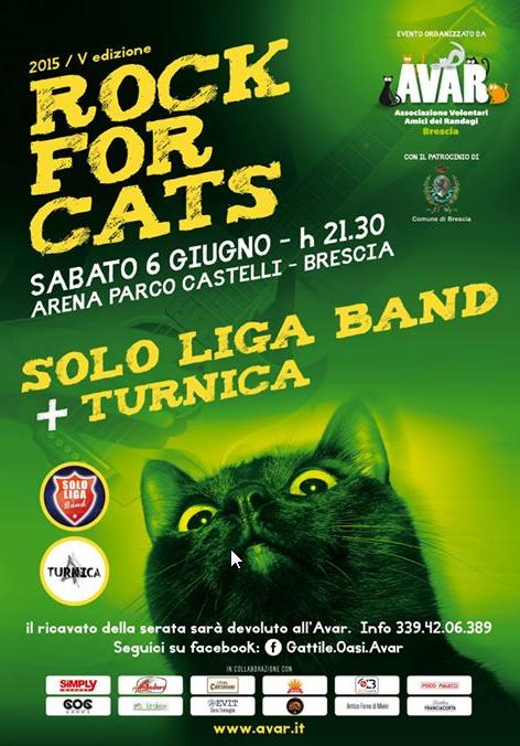 5 Rock For Cats a Brescia