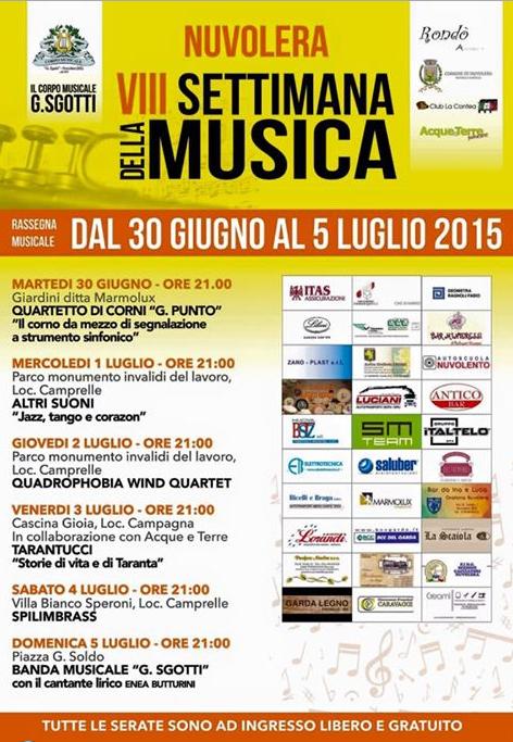 8 Settimana della Musica a Nuvolera