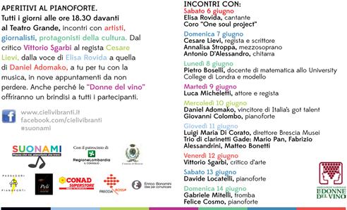 Aperitivi in Musica a Brescia