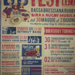 BB Rugby Fest 2015 a Leno