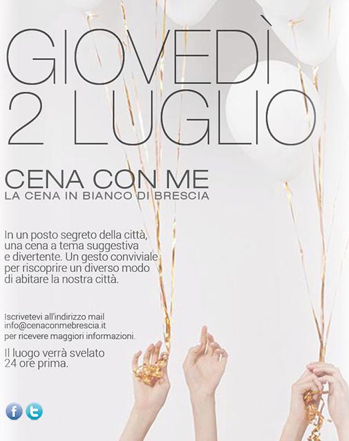 Cena Con Me 2015 a Brescia