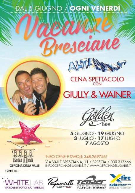 Cena Spettacolo a Brescia