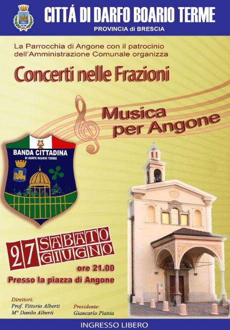 Concerti nelle Frazioni a Darfo Boario Terme