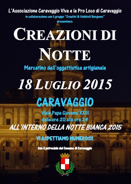 Creazioni di Notte a Caravaggio BG