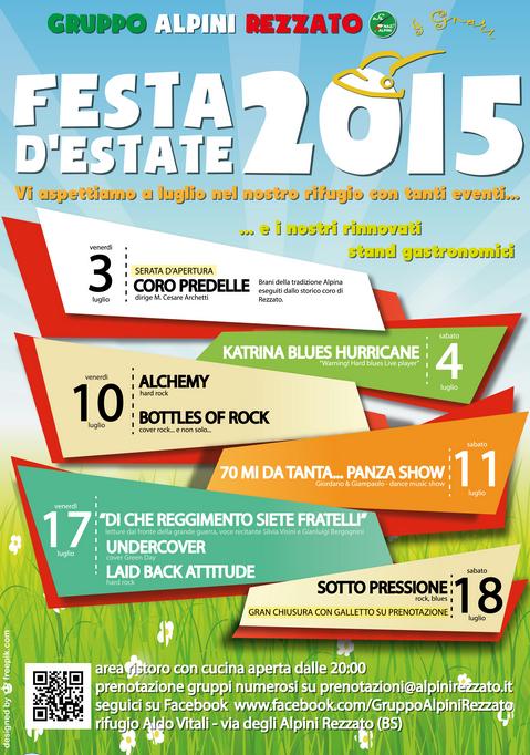 Festa Estate 2015 Rezzato