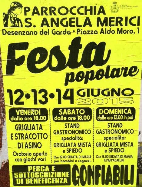 Festa Popolare a Desenzano
