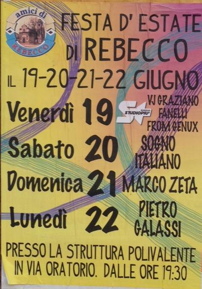Festa d'Estate a Rebecco di Guidizzolo MN