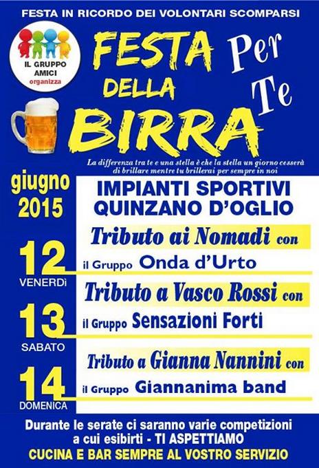 Festa della Birra a Quinzano d'Oglio