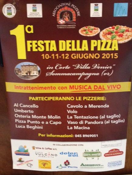 Festa della Pizza a Sommacampagna VR