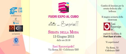 Fuori Expo al Cubo - Serata dell Moda a Collebeato