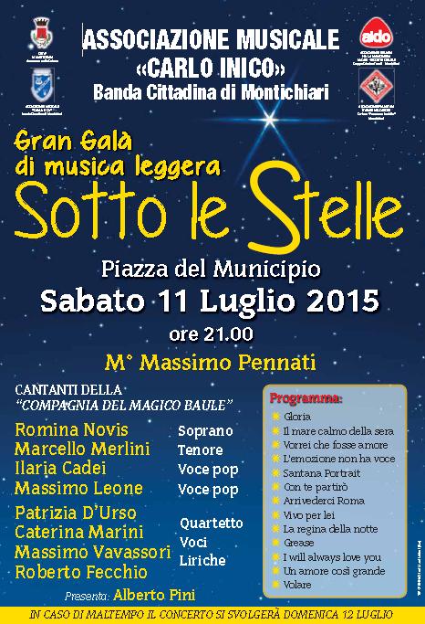 Gran Galà di Musica Leggera a Montichiari