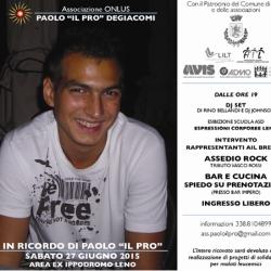 In ricordo di Paolo il Pro a Leno