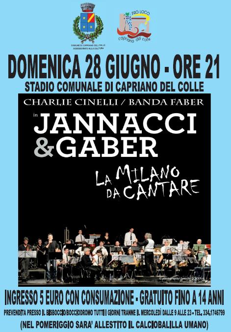 La Milano da Cantare a Capriano del Colle