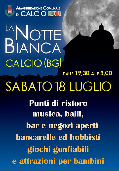 La Notte Bianca a Calcio (BG)
