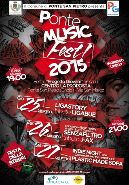 Ponte Music Fest a Ponte San Pietro BG