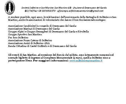 Rievocazione Storica Battaglia S,Martino  Solferino 2015