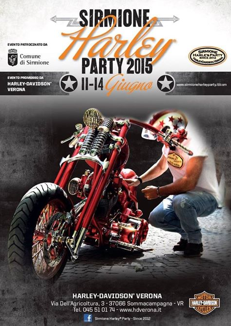 Sirmione Harley Party 2015