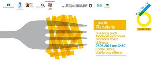 Tavola Planetaria a Brescia