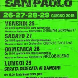 festa patronale di San Paolo 2015