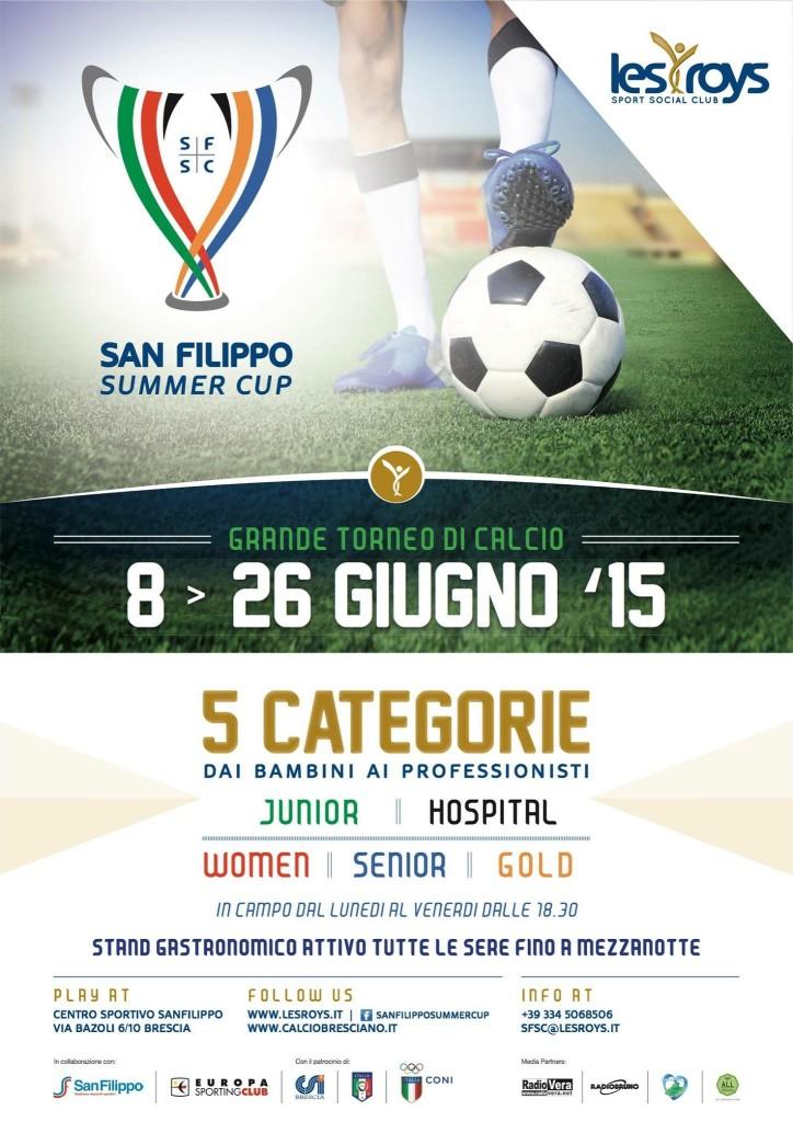 Gran torneo di calcio a Brescia