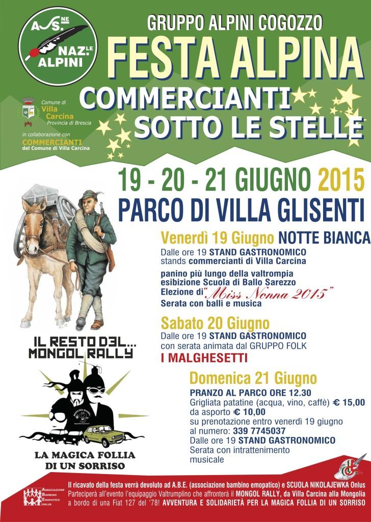 festa alpina Villa Carcina