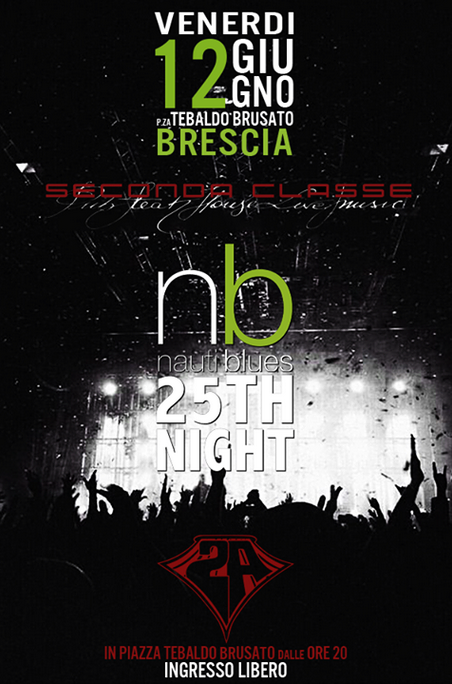 nb Nautiblues 25th night a Brescia