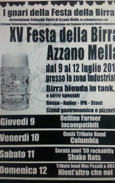 15 Festa della Birra ad Azzano Mella